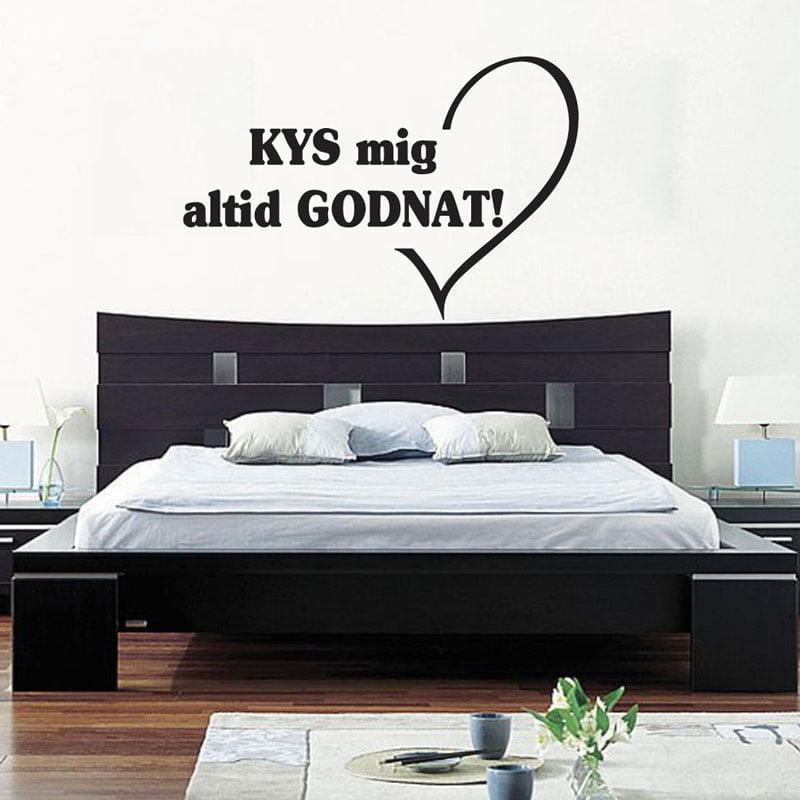 kys mig altid godnat – wowo.dk – wallstickers i god dansk kvalitet